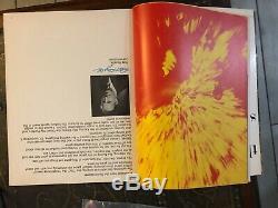 1967 FIRST SUPER BOWL I PROGRAM GREEN BAY PACKERS vs KANSAS CITY CHIEFS
