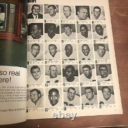 1967 Super Bowl Program Chiefs Packers