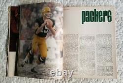 1967 World Championship 1st Super Bowl AFL vs NFL Program Packers vs Chiefs Rare