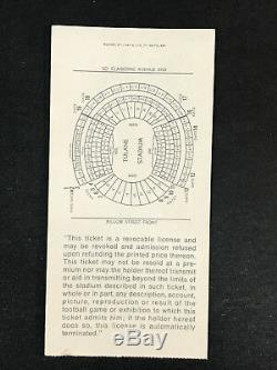 1970 Super Bowl IV Ticket Stub KC Chiefs Minnesota Vikings NICE NO CREASES (A)
