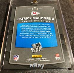 2017 Panini Donruss Base Patrick Mahomes Rookie RC Super Bowl MVP Chiefs