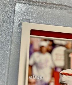 2017 Score Patrick Mahomes Rookie Card #403 Autographed Mvp Superbowl Kc Chiefs
