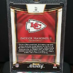 2018 Panini Select Red Prizm Patrick Mahomes /99 Chiefs MVP Super Bowl 2nd Year