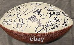 2019 2020 Kansas City Chiefs Super Bowl LIV Signed Autographed Football RARE