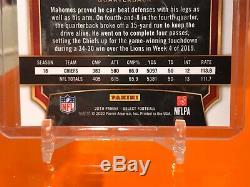 2019 Select FOTL Patrick Mahomes /11 Prizm Neon Orange Super Bowl MVP Chiefs