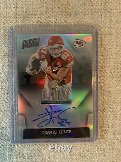 2020 Chronicles Travis Kelce Super Bowl Signatures LIV Auto Chiefs Silver