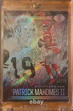 2020 Illusions Patrick Mahomes/Joe Montana 05/12 Kansas City Chiefs SuperBowl LV