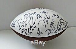 2020 KANSAS CITY CHIEFS Super Bowl Champions SIGNED Logo Football TYRANN MATHIEU