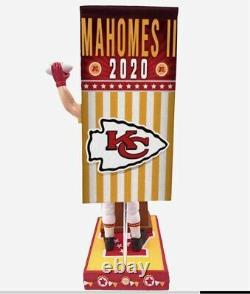 2020 Kansas City Chiefs Patrick Mahomes Bobblehead Forever Swing Vote Election