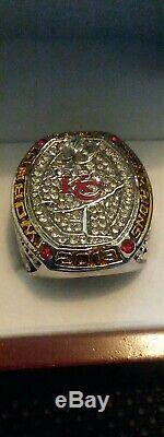 2020 Kansas City Chiefs Super Bowl LIV Championship MAHOMES MVP RING Sz13 WithBOX