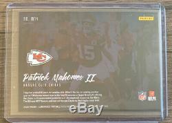 2020 Luminance Patrick Mahomes II SSP Moments Chiefs M14 Case Hit Super Bowl