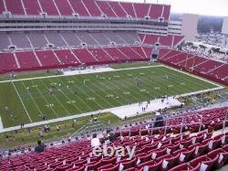 2Sec 306Super Bowl LV TicketsTampaFebruary 7 CHIEFS BUCS SIDE-LINE VIEW
