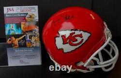 ANDY REID Signed Kansas City CHIEFS Mini Helmet Super Bowl 54 LIV Champs JSA COA