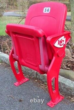 ARROWHEAD STADIUM KC SEAT Dawson Mahomes Kansas City Chiefs Super Bowl LIV 54