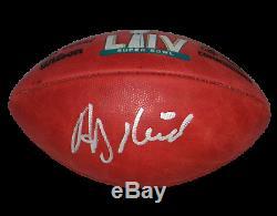 Andy Reid Signed Kansas City Chiefs Official Wilson Super Bowl LIV Football Jsa