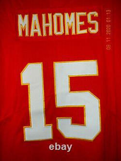 Brand New with Tags PATRICK MAHOMES Kansas City Chiefs SUPERBOWL 54 Jersey, Large