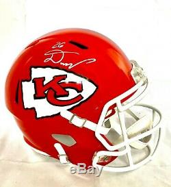 Damien Williams Signed Kc Chiefs Super Bowl Speed Fs Helmet Beckett Coa #wa86819