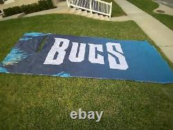 GAME USED Super Bowl LV 55 Chiefs Tampa Bay Buccaneers 237 x 93 Banner Flag