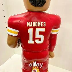 KC Chiefs #15 Patrick Mahomes, NFL MVP Bobblehead 3' Statue Super Bowl Champs