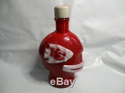 Kansas City Chiefs 1969 Super Bowl IV McCormick Decanter Bottle New