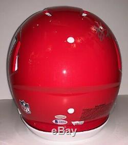 Kansas City Chiefs 2019 Super Bowl Team Signed Helmet Mahomes +4 Fanatics BAS