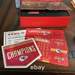 Kansas City Chiefs 2020 Season Ticket Member Gift Box