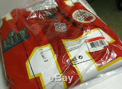 Kansas City Chiefs NFL Patrick Mahomes Nike Super Bowl LIV Game Jersey Official