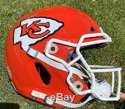 Kansas City Chiefs PATRICK MAHOMES Authentic Full Size VICIS Football Helmet