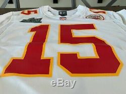 Kansas City Chiefs Super Bowl LIV Patch Nike Jersey Patrick Mahomes MVP RARE NWT