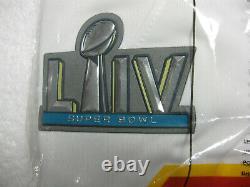 Kansas City Chiefs Travis Kelce White Super Bowl LIV NIKE Game Jersey, Official