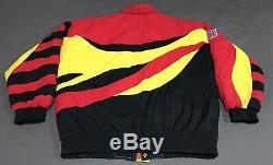 Kansas City Chiefs Vintage APEX One Pro Line Jacket Mens Size L NFL Football
