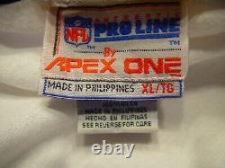 Kansas City Chiefs Vintage Apex One NFL Pro Line Jacket XL Coat Mahomes RARE