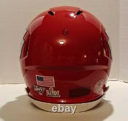 Kansas City Chiefs full size Superbowl 54 helmet