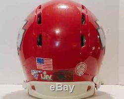 Kansas City Chiefs full size helmet (superbowl 54)