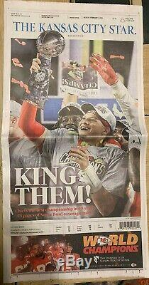 Kansas City Star Newspaper 2-3-20 Super Bowl Chiefs