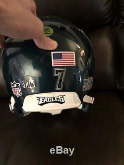 Mike Vick Game Worn Helmet Chiefs 49ers Super Bowl Memorbilia NFL