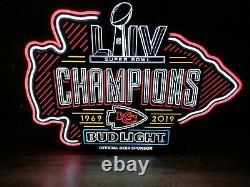 NEW Kansas City Chiefs Superbowl LED Sign