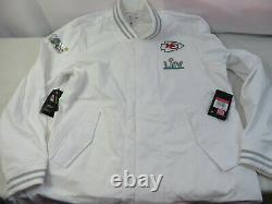 NFL Nike Mens Super Bowl LIV Kansas City Chiefs Player Jacket Size 3XL 3XLARGE