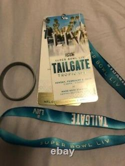 NFL Super Bowl 54 MIAMI 17 Item Fan Package KC Chiefs vs SF 49'ers $209