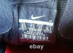 Nike Kansas City Chiefs Air Zoom Pegasus 36 Running Shoes CI1930-600 Size 8.5