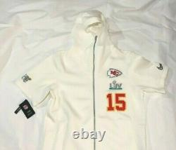 Nike Kansas City Chiefs Mahomes Showout Super Bowl LIV Hoodie Mens L DC9253-100
