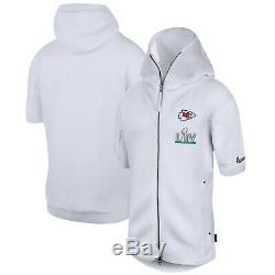 Nike Kansas City Chiefs Mens Super Bowl LIV Media Showout Hoodie Jacket 3XL