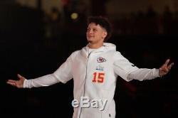 Nike Kansas City Chiefs Patrick Mahomes SuperBowl LIV Media Night Showout Hoodie