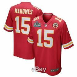 Nike Patrick Mahomes Kansas City Chiefs Mens Super Bowl LIV Game Edition Jersey