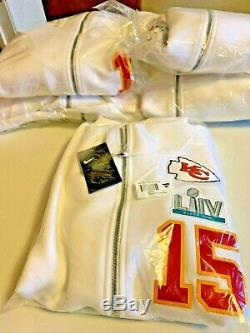 Nike Patrick Mahomes Kansas City Chiefs Super Bowl LIV Champions Showout Hoodie