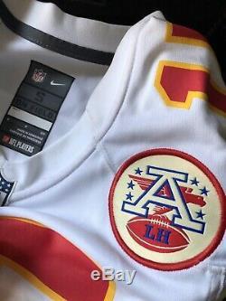 Nike Patrick Mahomes Kansas City Chiefs Super Bowl LIV Jersey S White NWT