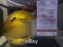 PATRICK MAHOMES Auto KANSAS CITY CHIEFS BLAZE Full Size FS HELMET Super Bowl MVP