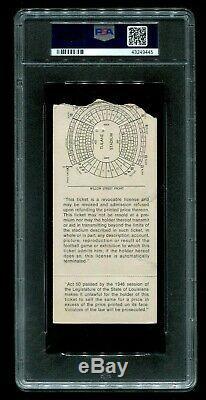 PSA Ticket Football Super Bowl IV 4 1970 Kansas City Chiefs Minnesota Vikings