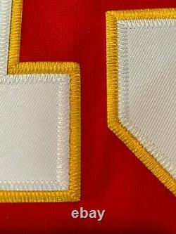 Patrick Mahomes #15 Kansas City Chiefs Super Bowl 54 Jersey Large