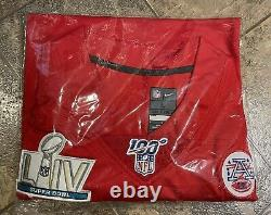 Patrick Mahomes #15 Kansas City Chiefs Super Bowl LIV Large Jersey 100 NFL Anny
